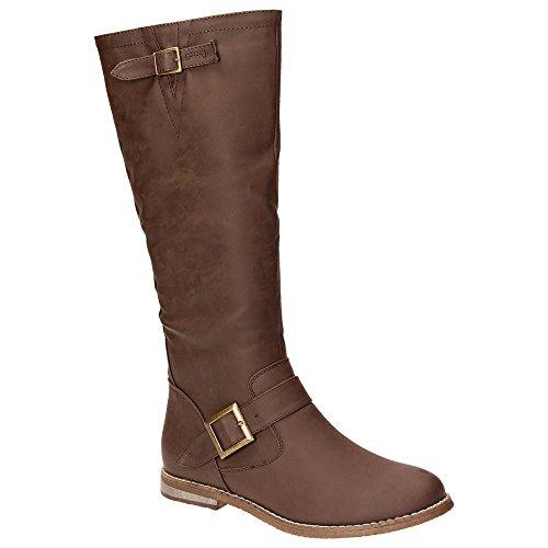 Marrone Stivali marrone Donna Classici Claudia Ghizzani2475006 qIU5wax8
