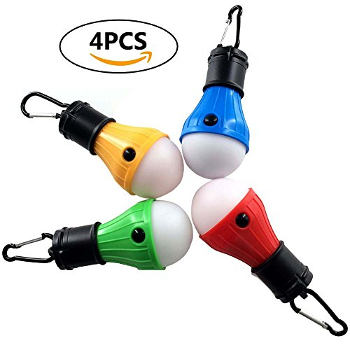 LED Portable Camping Lights for dispersed camping, remote camping, boondocking