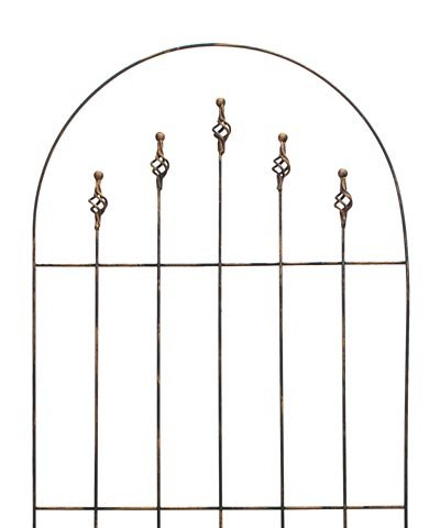Gardman R553 Finial Trellis, Antique Copper Finish, 24