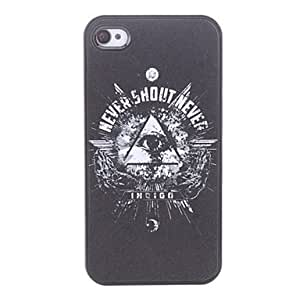 RC - Eye Pattern Hard Case for iPhone 4/4S