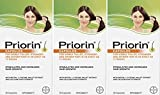 Priorin Caps 60's - Pack of 3 - Sealed Manufacturer