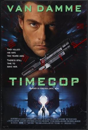 Timecop Movie Poster 11x17 Master Print