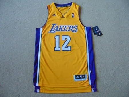 Uomo Piccolo NWT adidas Los Angeles Lakers Swingman Pallone