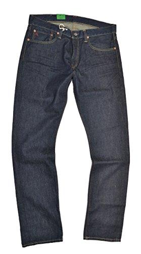 Polo Ralph Lauren Riverside Slim Straight Men's Denim Jeans (Dark Wash, 32/30)