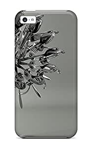 New Arrival Premium 5c Case Cover For Iphone (fork Artistic Metal Spoons Forks Food Abstract Artistic)