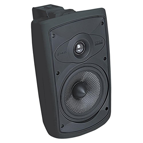 Niles OS6.5 Black (Pr) 6 Inch 2-Way High Performance Indoor Outdoor Speakers (FG00995)