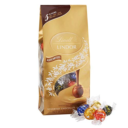 Lindt Lindor Truffles Assorted 5 Flavors -50ct Gift
