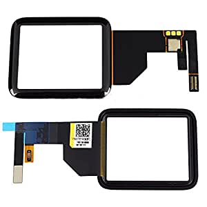 Black Digitizer Touch Screen Replacement For Apple Watch Series 1 Sport 38mm Only FBA
