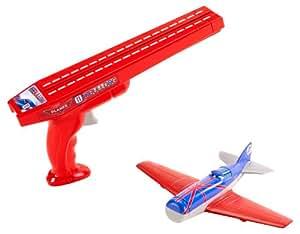 Planes - Avión de juguete con accesorio, real flight Bulldog (Mattel X9473)