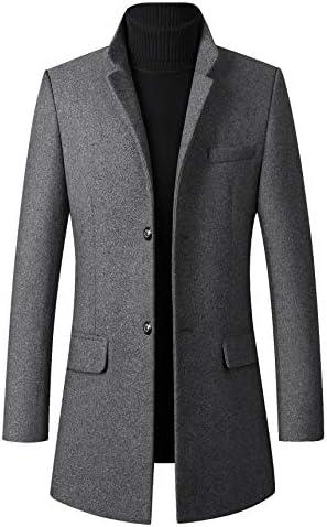 コート メンズ ロング ジャケット ビジネス チェスターコート ウール 厚手 秋冬 防寒 大きいサイズ