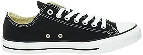 Converse Chuck Taylor All Star Low Top Unisex Canvas Oxford Shoes (6 Mens D(M) US/8 Womens B(M) US, Black)