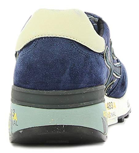 Premiata Mick Awarded Sneaker 3253 Blue ZwvUZrqg