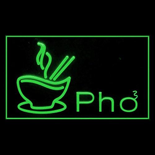 - 110125 Pho Vietnamese Vietnam Bowl Soup Beef Display LED Light Sign