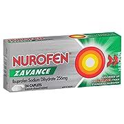 Nurofen Zavance Caplets Pain Relief 256mg (Count of 24) (0174297)