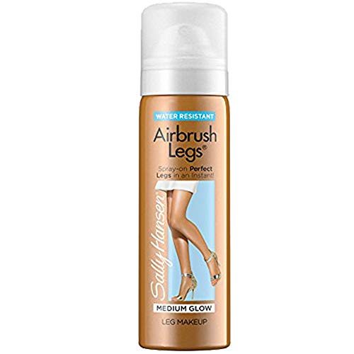Sally Hansen Airbrush Legs Medium Glow 4.4 Ounce (130ml) (6 Pack)
