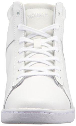 Women's Lacoste Carnaby 317 3 Evo Sneaker White Wedge Fashion qrrZwCxdn