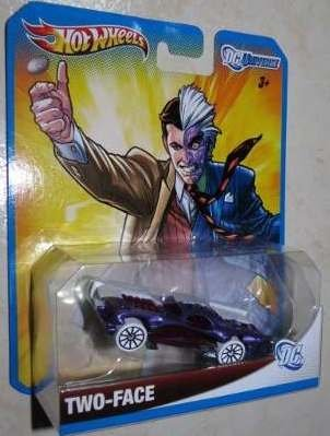 Hot Wheels 2012, DC Universe Two-Face. 1:64 Scale. Mattel