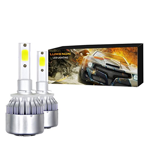 (Lumenon LED Headlight Bulbs Conversion Kit 180W 180000LM 6000K Cool White 2 Yr Warranty (880 893 881 894))