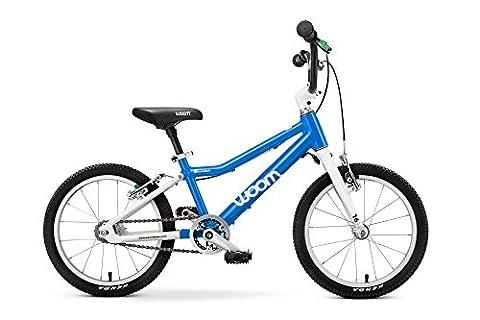 WOOM BIKES USA Woom 3 Bike 16 Inch 4-6 Years Blue Automatix, Blue - Gravity 16 Inch Bike