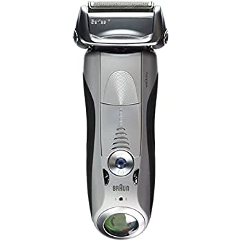 Braun Series 7 Wet & Dry Shaver, White, 1.4 Pound