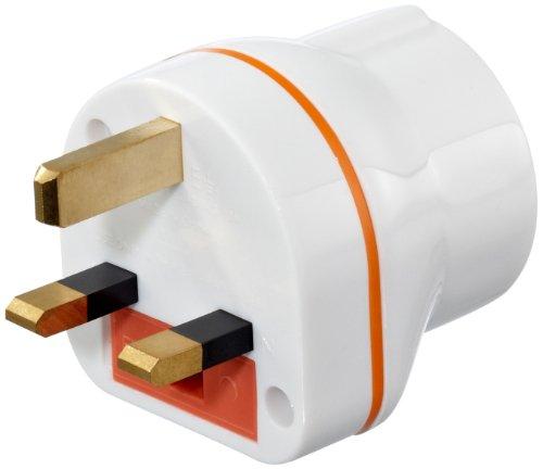 Steckeradapter Euro-UK u.a. Adaptor weiß MS6ej04jq1
