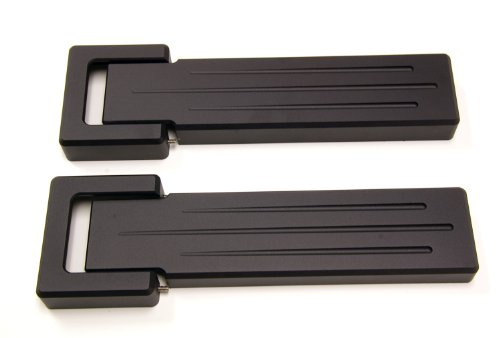 All Sales 3510K Black Tail Gate Hinge Cover - 4 Piece