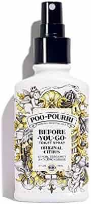 Poo-Pourri Before-You-Go Toilet Spray, Original Citrus Scent, 4 oz