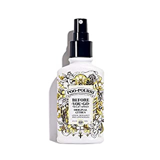 Poo-Pourri Before-You-Go Toilet Spray, Original Citrus Scent, 4 oz