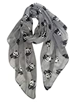 GERINLY Animal Print Scarves: Cute Pandas Pattern Women Wrap Scarf