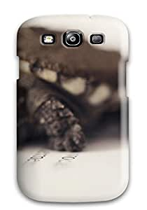 New Cute Funny Turtle On A Book Case Cover/ Galaxy S3 Case Cover