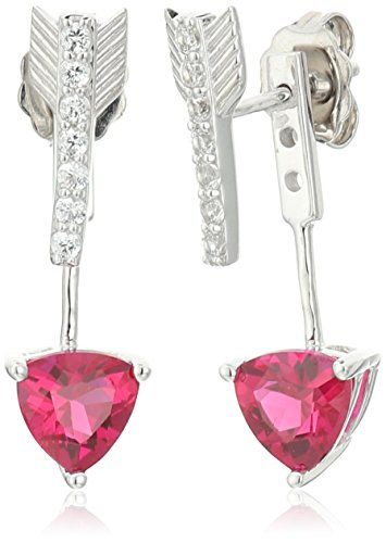 xpy-sterling-silver-created-ruby-and-created-white-sapphire-arrow-drop-earrings