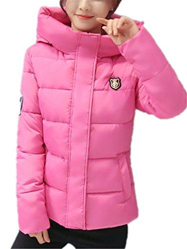 HAOKTY Women's Down Coat Pink