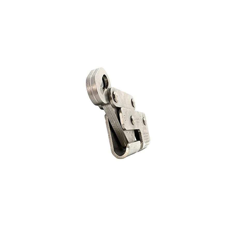 Fusion Climb Cable Grab Stainless Steel Auto Lock Rope, Silver