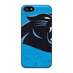 Top Quality Rugged Carolina Panthers Case Cover For Iphone 5/5s