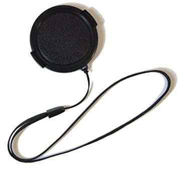 Review Lens Cap with String