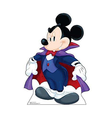 Advanced Graphics Halloween Mickey Dracula Life Size Cardboard Cutout -