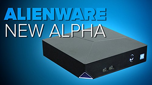 Alienware Alpha ADM-100 Extreme Gaming Desktop Console (Intel Core i3-4170T, 8GB Ram, 500GB Hard Drive, Nvidia GeForce GTX GPU 2GB DDR5, HDMI, USB 3.0) Windows 10 (Certified Refurbished)