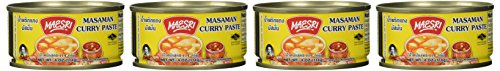 Maesri Thai Masaman Curry - 4 Oz (Pack of 4)