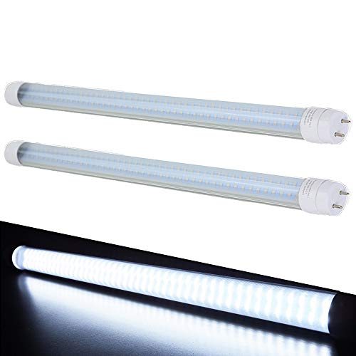 RV LED Light Bulb LED T8, 18 Florescent Tube Replacement, 600 Lumen (Cool White) (2)