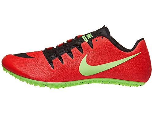 Nike Men's Zoom Ja Fly 3 Track Spike Red Orbit/Black/Flash Crimson/Lime Blast Size 9 M US