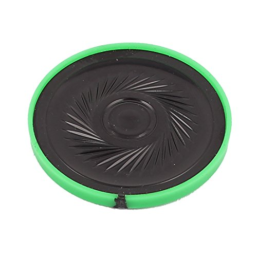 Aexit 40mm Dia 8 Ohm 0.5W Internal Magnetic Speaker Horn Loudspeaker Green by Aexit