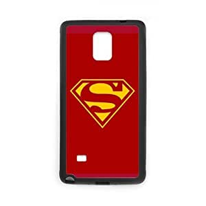 the Case Shop- Super Man Superman Super Hero TPU Rubber Hard Back Case Silicone Cover Skin for SamSung Galaxy Note4 , n4xq-484