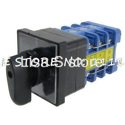 380V AC 4 Position redary Cam 12 Screw Terminals Changeover Switch Tzcwf