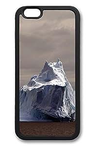 6 Plus Case iPhone 6 Plus Cases Huge Iceberg TPU Back Cover Skin Soft Bumper Case for Apple iPhone 6 Plus