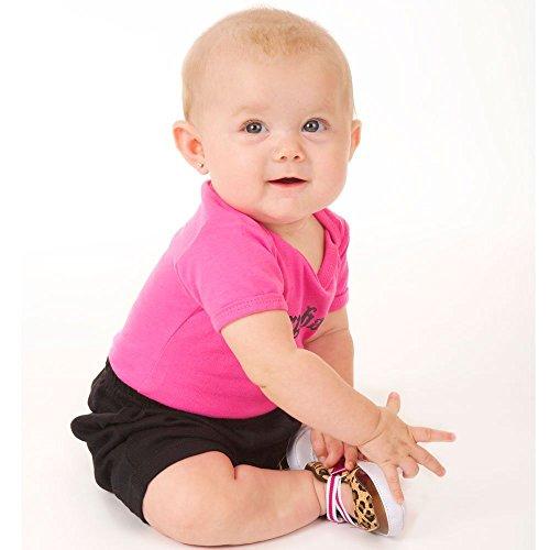 Luvable Amigos bebé niña antideslizante Dot bebé botines zapatos marrón Brown Leopard Talla:6-12 meses Brown Leopard