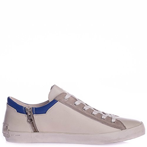 Crime London white leather
