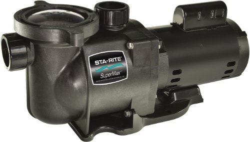 Pentair Sta-Rite N2-1-1/2A HP SuperMax Energy Efficient Dual Low Speed High Performance Inground Pool Pump, 1-1/2 HP, 230-Volt