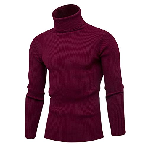 IOODO Winter Warm Turtleneck Sweater Pullover