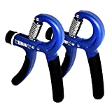 Hand Grip Strengthener Workout, 2-Pack Hand Exerciser Strength Trainer, Strength
