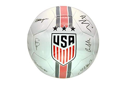 Icon Sports Group U.S. Soccer USWNT Official Size 5 Soccer Ball Signature (Usa Official Soccer Ball)